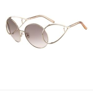 Chloe Jackson oversized sunglasses